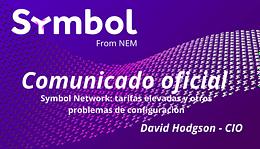 Symbol Network tarifas elevadas y otros problemas de configuración