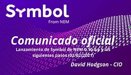 Lanzamiento de Symbol de NEM 0.10.0.6 y los siguientes paso